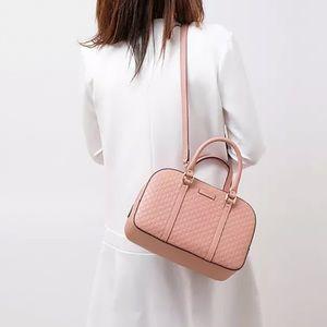 Gucci micro guccissima pink satchel
